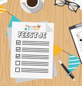 checklist kinderfeestje