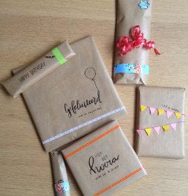 Cadeau inpakken tips
