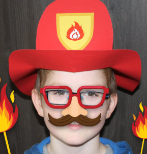 Brandweerhelm knutselen