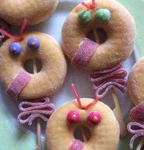 Donut traktatie