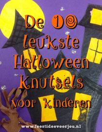 Halloween Figuurtjes Maken.Halloween Knutselen Feestidee