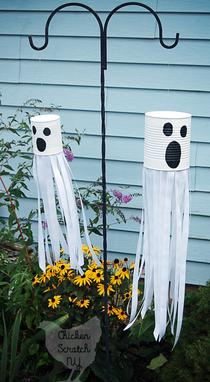 Halloween knutselen feestidee for Halloween versiering maken